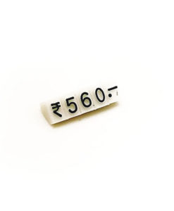 plastic jewelry price tags