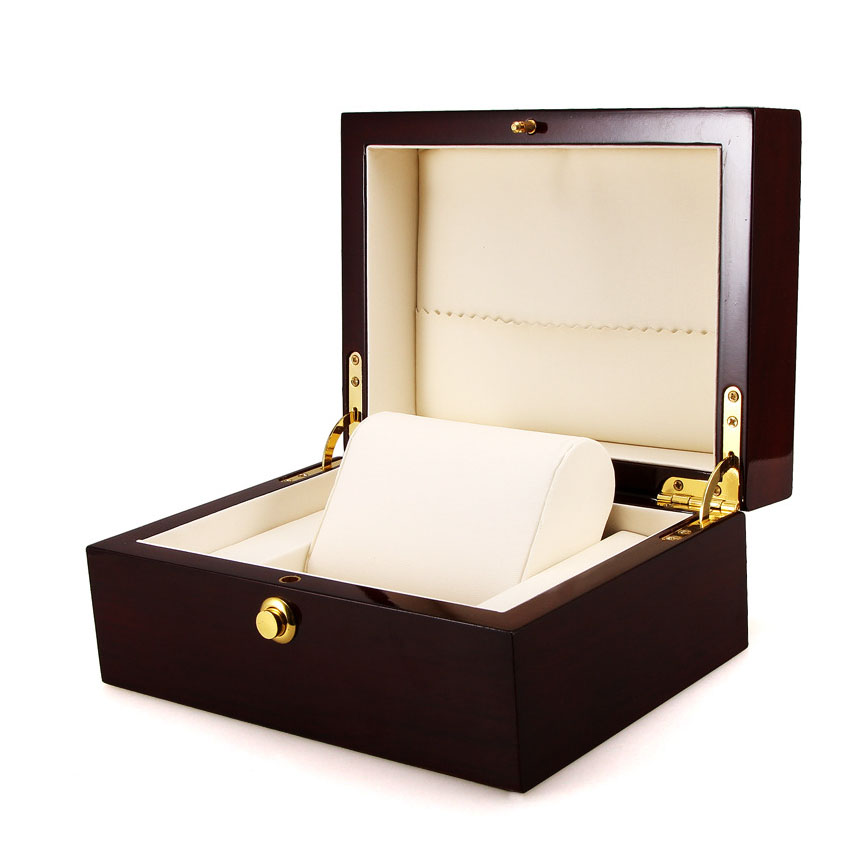 Luxury Brand Watch Wooden Box With Lock Jewelry Price